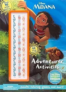 Disney Moana Adventurer Activities (Activity Book with Covermount)