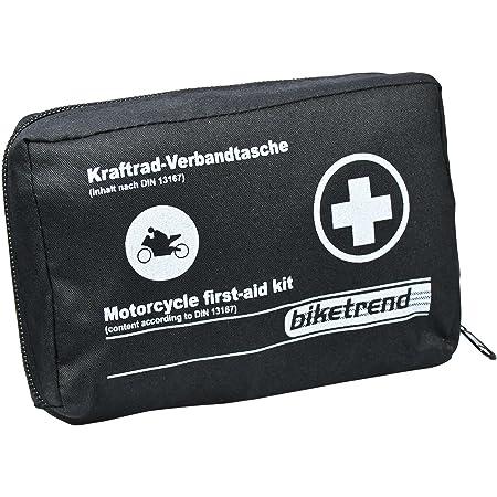 Cartrend Trousse de premiers secours pour moto, DIN 13167