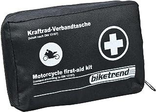 Cartrend 7730050 Första-hjälpen Kit för Motorcykel, Svart, 15.6 x 11.6 x 5.4 cm