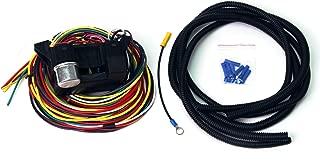 Wisamic 10 Circuit Basic Wiring Harness Fuse Box Street Hot Rat Rod Wiring Box Car Truck 12V