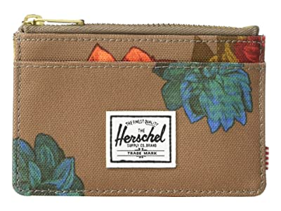 Herschel Supply Co. Oscar RFID (Vintage Floral Pine Bark) Wallet Handbags