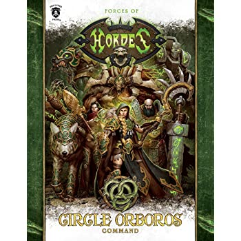 Circle of Orboros Command HC Miniature Game PIP1093 Privateer Press Forces of Hordes Book