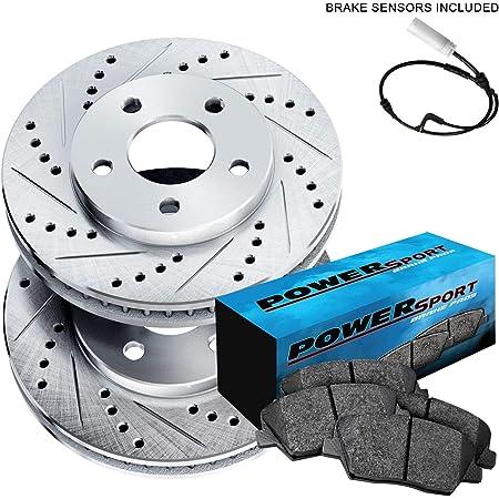 760i 2004-2006 750i 750Li 2006-2008 760Li 2003-2008 Replace# 34356778037 34356755266 BOXI 2pcs Front and Rear Brake Pad Wear Sensor Compatible with BMW 745i 745Li 2002-2006
