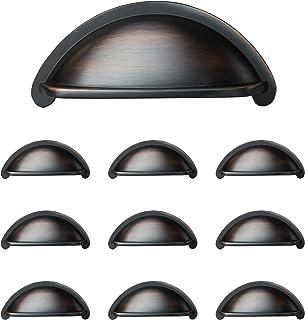 Amazon Com Bronze Pulls Cabinet Hardware Tools Home Improvement
