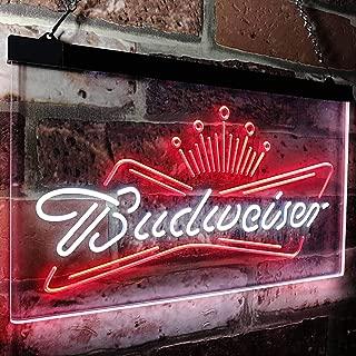 "NHRA RACING BUDWEISER Drag Neon Sign Beer Bar Gift 14/""x10/"" Lamp Man Cave"