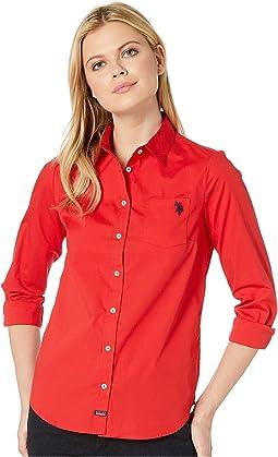 Woven Pocket Shirt