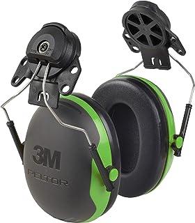 3M Peltor XSeries CapMount گوشواره ، NRR 21 dB ، یک اندازه متناسب با بیشتر ، X1P3E سیاه / سبز (بسته 1)