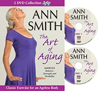 Ann Smith: The Art of Aging, Senior Fitness Video, Stretching, Improve Strength and Flexibility