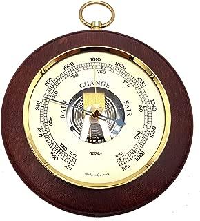 Fischer Barometer Pascal, Brass-Mahogany 5.5