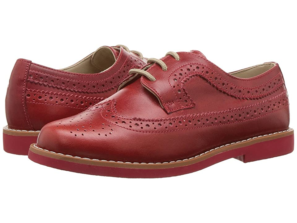 Elephantito Brogue (Toddler/Little Kid/Big Kid) (Red) Girl