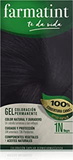 Farmatint Gel 1N Negro | Color Natural y Duradero |