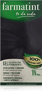 Farmatint Gel 1N Negro | Color Natural y Duradero |