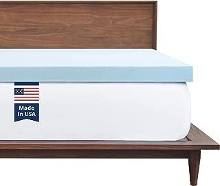 Best blue memory foam mattress topper Reviews