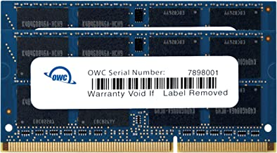 OWC 16GB (2X 8GB) 1333Mhz PC3-10600 DDR3 SO-DIMM Kit de actualización de Memoria de 204 Pines