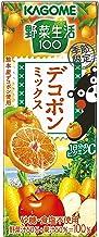 カゴメ 野菜生活100 デコポンミックス 195ml ×24本