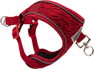 Pup Crew Pro Reflex Trainer Reflective Step in Agility Harness with Flex Knit Shell and Soft Mesh Lining