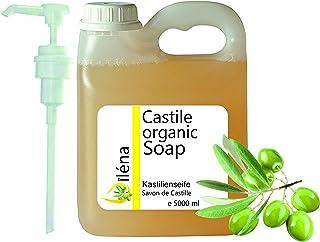 Äkta ORGANISK CASTILSÅP baserad enbart på olivolja, tar bort pormaskar, ansikts-, hand-, kroppsrengöringsgel, hår, kök, kl...