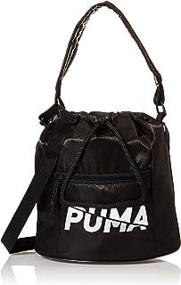 PUMA Womens Core Base Bucket Shoulder Bag, Black - 07737501
