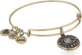 Evil Eye Bangle Bracelet Expandable