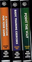 The Monk 101 Pool/Billiards Series: Volume 1, 2, and 3 Tape Set (1: A Foundation for Your Game, 2: Basic Training Exercises, 3: Point the Way)