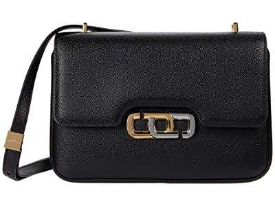 Marc Jacobs The J Link Shoulder Bag (Black) Shoulder Handbags