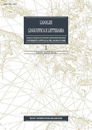 LAnalisi Linguistica e Letteraria 2015-1