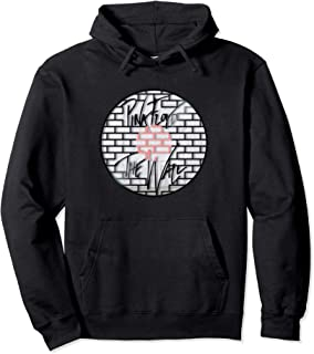 The Merch Wall Window Grille Pink Circle Grid Gifts Floyd Pullover Hoodie