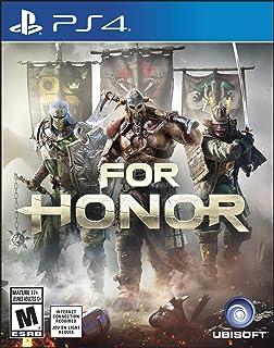 Pour l'honneur–Sons de jeu en anglais–Coque arrière en espagnol–PS4