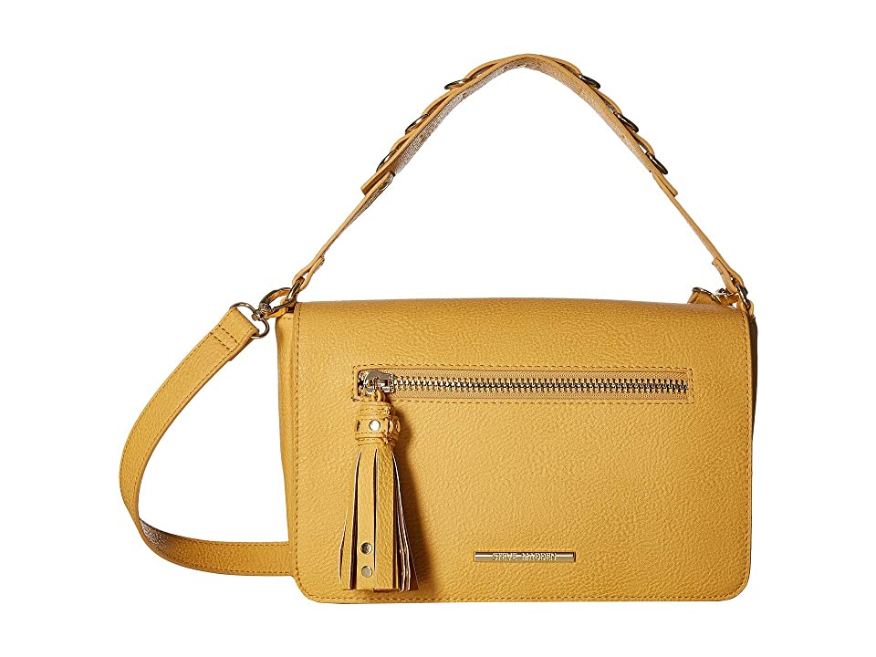 8e7438c073 Steve Madden Balisha (Mustard) Shoulder Handbags