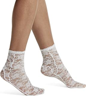 Best women's ankle socks with lace Reviews