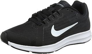 Nike 922853-001: Black White Downshifter 8 Big Kids Sneakers