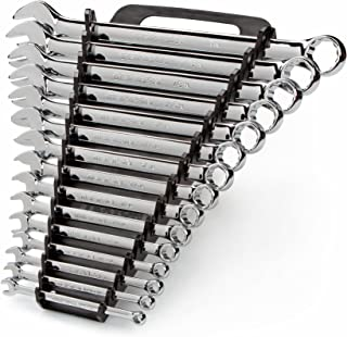 TEKTON Combination Wrench Set, 15-Piece (1/4-1 in.) - Keeper | 18772