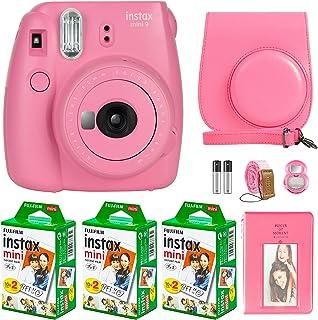 FujiFilm Instax Mini 9 Instant Camera + Fujifilm Instax Mini Film (60 Sheets) Bundle with Deals Number One Accessories Inc...