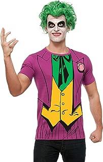 Costume DC Comics Justice League Superhero Style Adult Printed Top
