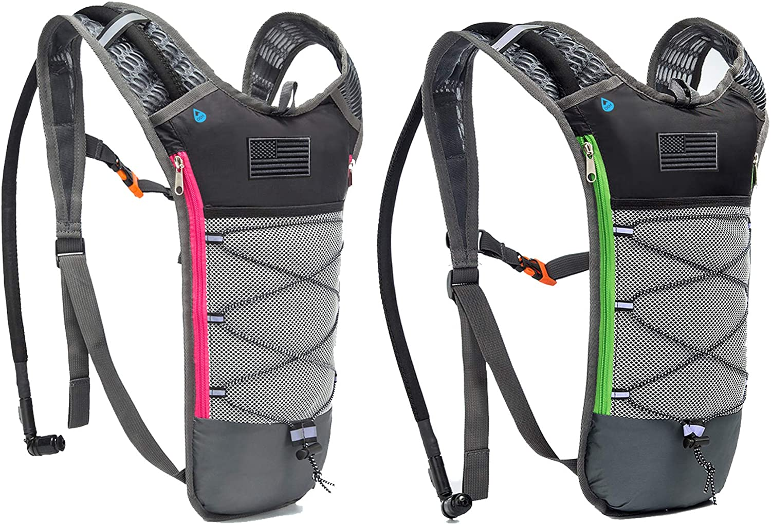 J.CARP 2 Pack Hydration Bladder with 2L Max 81% OFF Department store Backpack