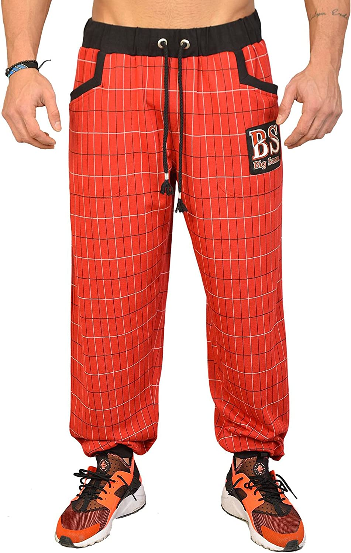 BIG SAM SPORTSWEAR COMPANY Men's Baggy Track Pants Bodypants 1118