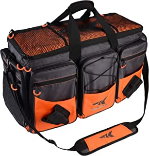 KastKing Fishing Tackle Bags - Large Waterproof Tackle...