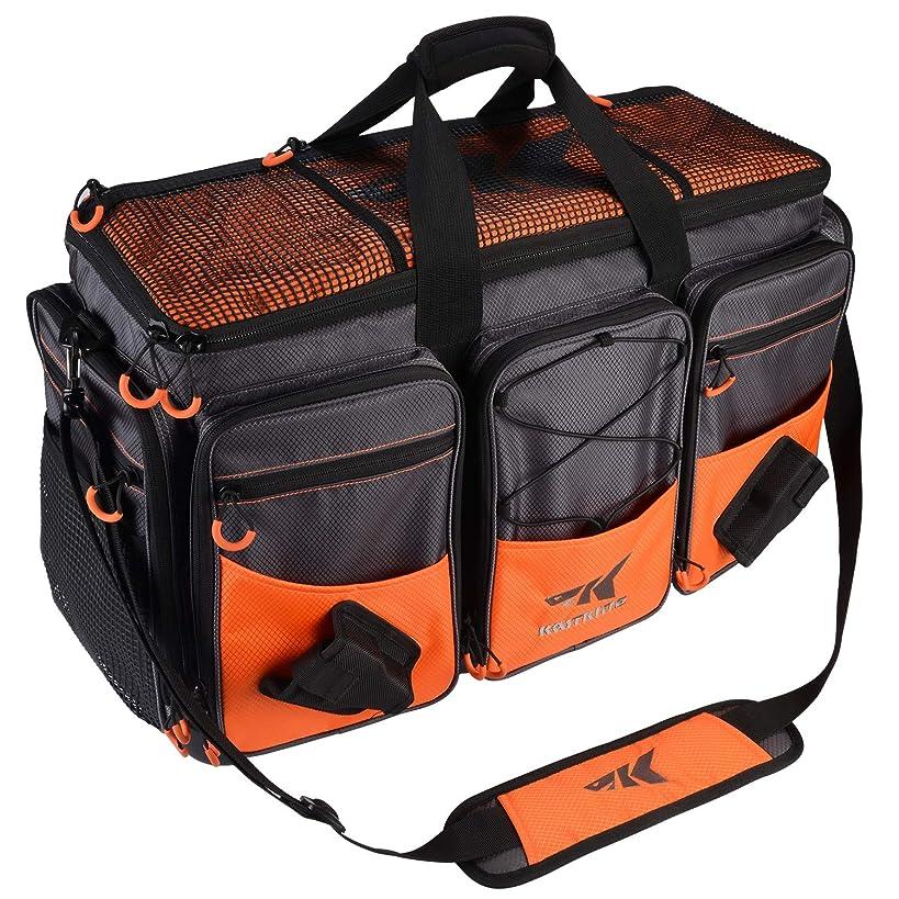 KastKing Fishing Tackle Bags - Large Saltwater Resistant Fishing Bags - Fishing Gear Bags - Waterproof Fishing Tackle Storage Bags - 3600 3700 Tackle Box