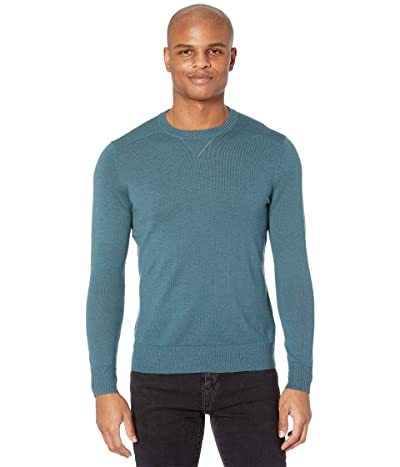 Smartwool Sparwood Crew Sweater (Prussian Blue Heather) Men