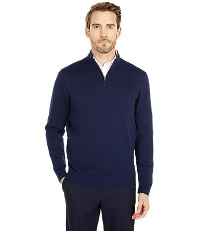 Dockers Long Sleeve 1/4 Zip Sweater (Pembroke) Men