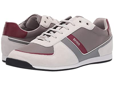 BOSS Hugo Boss Glaze Low Profile Sneaker by BOSS 1 (Open Beige) Men