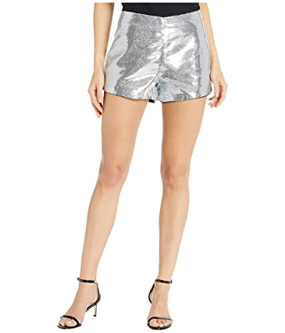Blank NYC Sequin Shorts in Astrology (Silver) Women