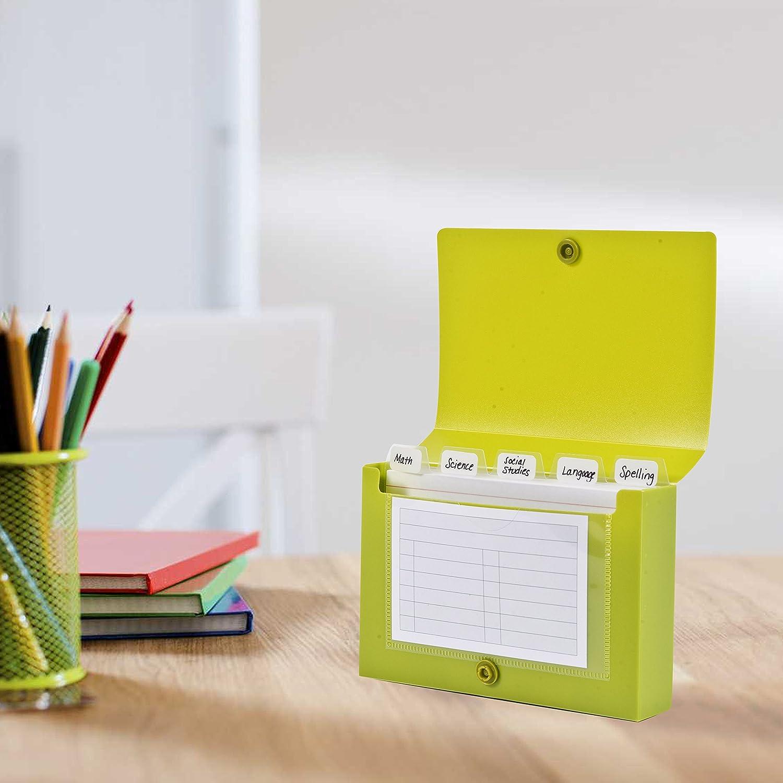 DocIt Index Card Holder 20x20 for Storing Recipe Cards, School Index ...