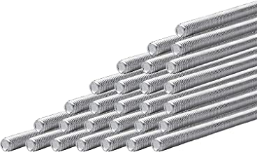 Hot Dip Galvanized Ships FREE in USA Steel Threaded Rods 25pcs 7//8-9 X 6