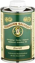 Hermann Sachse Holzöl Arbeitsplatten-Öl farblos 1Liter Hartöl zur wirkungsvollen Erst und Nachbehandlung von Holz Möbel Esstisch im Innen-Bereich