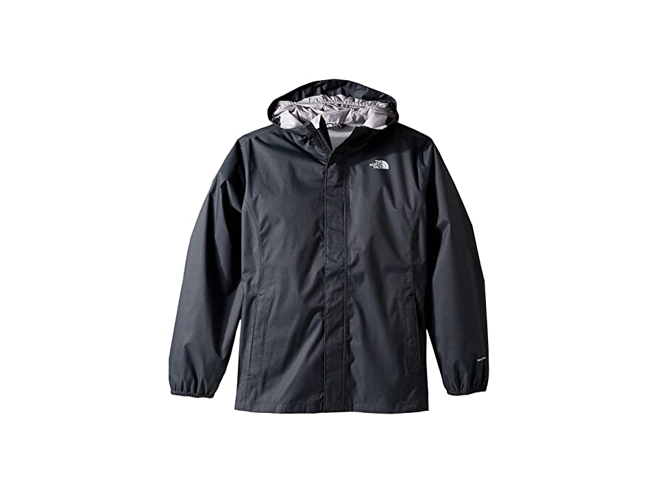 The North Face Kids Resolve Reflective Jacket (Little Kids/Big Kids) (TNF Black) Girl