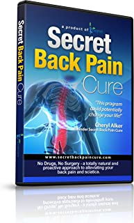 24Seven Wellness & Living Back Pain Relief DVD, Natural Prevention of Lower, Upper, Neck and Sciatic Pain. A Yoga and Pilates Based Stretch Program That Could Potentially Change Your Life!
