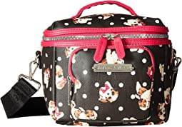 Puppies Print Lunch Tote