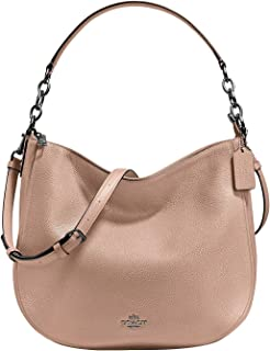 COACH Women's Polished Pebbled Leather Chelsea 32 Hobo