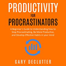 Productivity for Procrastinators: A Beginner's Guide to Understanding How to Stop Procrastinating, Be More Productive, and...